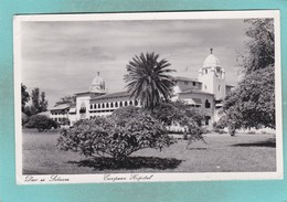 Small Old Postcard Of Hospital, Dar Es Salaam, TanzaniaV107. - Tanzania
