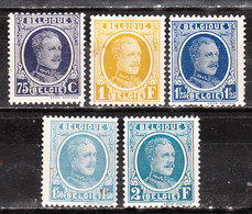 204/08*  Houyoux - Bonnes Valeurs - MH* - LOOK!!!! - 1922-1927 Houyoux