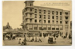 CPA  59 : MALO LES BAINS Hotel Du Casino   A  VOIR  !!!!!! - Malo Les Bains