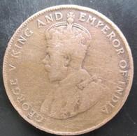 Ile Maurice (Mauritius), 5 Cents 1922, TTB - Mauricio
