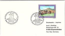 ITALIA. BUSTA.  50° ANNIVERSARIO BATTAGLIA DI PANTELLERIA PANTELLERIA 1992 - WO2