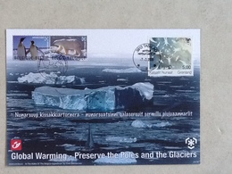 3884HK Polar Regions. - Souvenir Cards