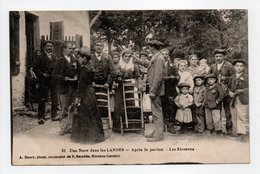 - CPA LANDES (40) - Une Noce 1918 - Après Le Pardon - Les Etrennes (belle Animation) - Photo A. Daury N° 61 - - France