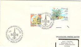 ITALIA. BUSTA.  50° 1° GRUPPO DI AVIAZIONE DI CACCIA ROMA AEROPORTO 1993 - WO2