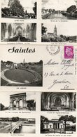 Saintes - Carte Lettre En 3 Volets - Multivues - Postal Stamped Stationery