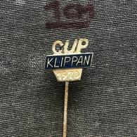 Badge Pin ZN008634 - Wrestling Klippan Cup 1970 Sweden - Lucha