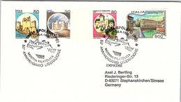 ITALIA. BUSTA.  50° ANNIVERSARIO DELLA GUERRA DI LIBERAZIONE SPOLETO 1995 - 2. Weltkrieg