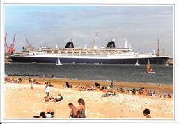 CPA-1998-PAQUEBOT-NORWAY-ex FRANCE-Escale A La Rochelle Pallice 31²/7/98-Edit Studio CPC-500 Ex-TBE-RARE- - Steamers