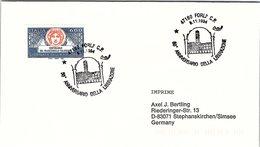 ITALIA. BUSTA.  50° ANNIVERSARIO  DI LIBERAZIONE FORLI 1994 - WW2