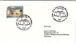 ITALIA. BUSTA.  50° ANNIVERSARIO   LIBERAZIONE CITTA DI CESENA CESENA  1994 - WO2