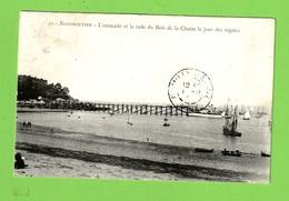 NOIRMOUTIER - L'ESTACADE ET LA RADE DU BOIS DE LA CHAISE LE JOUR DES REGATES - Noirmoutier