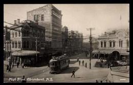 NOUVELLE ZELANDE, Christchurch, High Street, Tramway - Nouvelle-Zélande