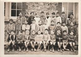 Rare Photo 18 X 13 Cm Classe école De St Memmie Année 39 - Altri Comuni