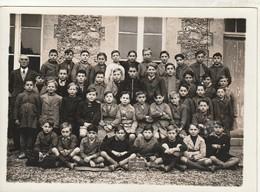 Rare Photo 18 X 13 Cm Classe école De St Memmie Année 1939 - Altri Comuni