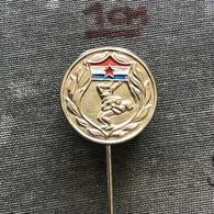 Badge Pin ZN008642 - Wrestling Yugoslavia Croatia Hrvatska Federation Association Union - Lutte