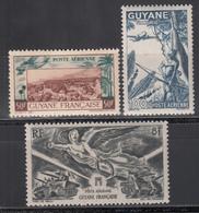 1942-46     Yvert Nº  21, 25, 28, - Nuevos
