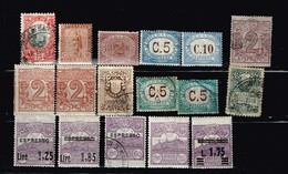 San Marino Aniens Timbres à Identifier - Collections (without Album)