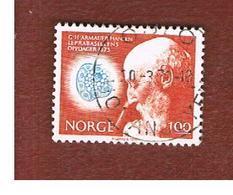 NORVEGIA  (NORWAY)    SG 696  -   1973  A. HANSEN (LEPROSY BACILLUS)    -   USED ° - Norvegia