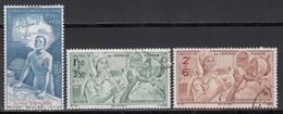 1942    Yvert Nº  22, 23, 24, - Nuevos