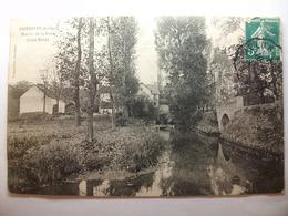Carte Postale Dordives (45) Moulin De La Folie ( CPA Noir Et Blanc Oblitérée 1907 Timbre 5 Centimes ) - Dordives