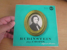 """Vinyle 45T (7"""") RUBINSTEIN PLAYS CHOPIN 4 Valses Disque RCA 95 214 - Clásica"""
