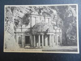 19962) ASCOLI PICENO S. EMIDIO DELLE GROTTE VIAGGIATA 1925 BOLLO STRAPPATO - Ascoli Piceno
