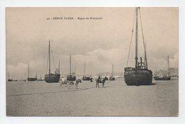 - CPA BERCK-PLAGE (62) - Repos Du Dimanche 1909 - - Berck
