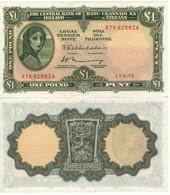 IRELAND  Republic  1 Pound  P64c   Dated 21.4.1975   Perfect UNC - Irland