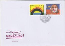 Europa Cept 2006 Liechtenstein 2v FDC (43715) - Europa-CEPT