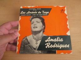 "Vinyle 45T (7"") AMALIA RODRIGUES Barco Negro + 3 Titres - Les Amants Du Tage -COLUMBIA EP - World Music"