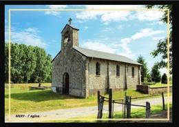 08  MERY  ... L'église - France