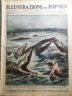 Illustrazione Del Popolo 7 Febbraio 1932 Carnevale Valentino Giocattoli Cinesi - Libri, Riviste, Fumetti
