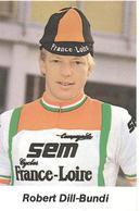Cyclisme, Robert Dill-Bundi - Cyclisme