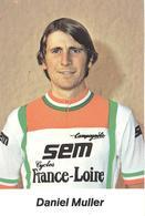 Cyclisme, Daniel Muller - Cyclisme