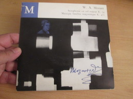 """Vinyle 45T EP 7"""": MOZART K.74 Et K.477 Par La Camerata Academica Du Mozarteum De Salzbourg - Clásica"""