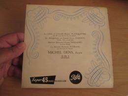 """Vinyle 45T EP 7"""" Disquez Pathé (de Campagne)  Michel DENS / Cloches De Corneville + Mousquetaires Au Couvent + Big Bisou - Opera"""