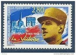 "FR YT 2944 "" La Victoire, Gal De Gaulle "" 1995 Neuf** - France"