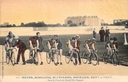 MAYER, SCHILLING, ELLEGAARD, HOURLIER, RUTT ET FRIOL, DANS LA FINALE DU GRAND PRIX PEUGEOT - Ciclismo