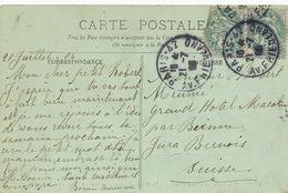 CP Envoyée Au Grand Hotel Macolin Par Bienne Jura Bernois  . CP Versailles - BE Berne