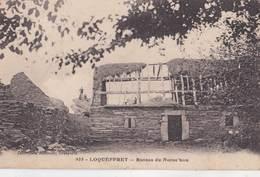 CPA Rare :  Loqueffret  (29) Ruines De Noroc'Hou   Ed   Joncour Brasparts - Other Municipalities