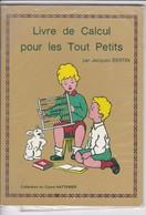 """Livre  /de Calcul 1987 >  Scolaire >   """"Jacques Bertin"""" > (Format 23 X 19  40 Pages) - 6-12 Ans"""