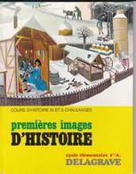 """Livre  /d'Histoire 1985 >  Scolaire >   """"M Et S Chaulanges"""" > (Format 23 X 19  60 Pages) - 6-12 Ans"""