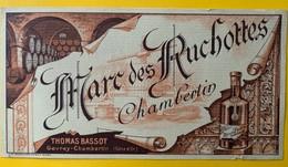 11115 - Marc Des Ruchottes Chambertin Thomas Bassot - Etiquettes