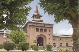 INDIA  2019  Jama Masjid  Srinagar  Kashmir  Built By Sultan Sikander  Stamped Card  # 20671  D Inde  Indien - Islam