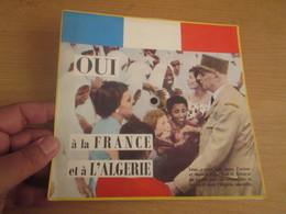 45 Tours SOUPLE : DE GAULLE Les Preuves Du Mensonge !!! OUI A LA FRANCE ET A L'ALGERIE - Humor, Cabaret