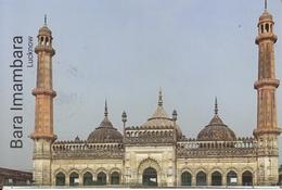 INDIA  2019  Bara Imambara  Lucknow  Built By Asaf - Ud Daulah Stamped Card  # 20674  D Inde  Indien - Islam