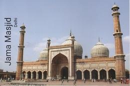 INDIA  2019  Jama Masjid  Delhi  Built By Moghul Emperor Shah Jahan  Stamped Card  # 20673  D Inde  Indien - Islam