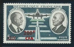 REUNION CFA: **, PA N° YT 62  TB - Luftpost