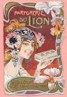 Face De Petit Calendrier Parfumerie Du Lion Witz & Colas Boulevard Sébastopol Paris - Calendriers