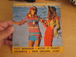 DISQUE 45 Tours Disque Pub VERNON Cocktail Variétés N°4 Petit Bonheur .. Alors Je Chante - Frederica - New Orleans Story - Compilations